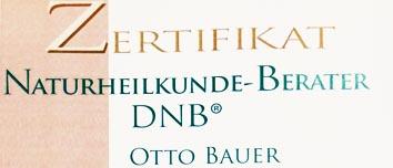 Zertifikat-Naturheilkunde-Berater DNB