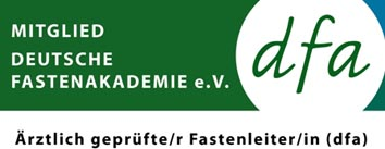 certified fasting coach by German Fasting Academy dfa